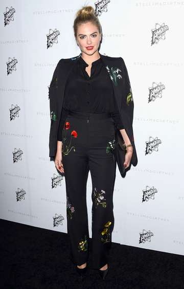 Stella McCartney Charlene Tuxedo Jacket as seen on Kate Upton