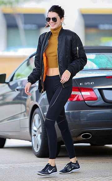 36e60be38c David Lerner Curved Belmont Leggings as seen on Kendall Jenner