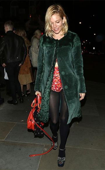 Chloe Paraty Orange Fizz Bag as seen on Sienna Miller
