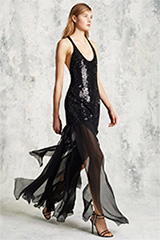 Michael Kors Pre-Fall 2016 Sequin Chiffon Dress