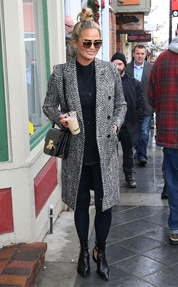 Maiyet Strap Detail Ankle Boots as seen on Chrissy Teigen