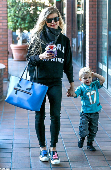 Eleven Paris Karl Is My Father Sweatshirt as seen on Fergie