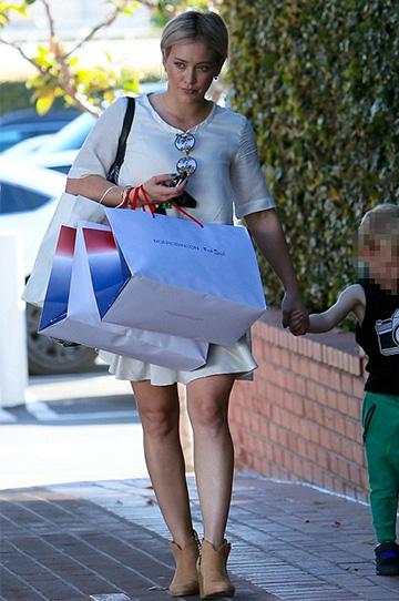 Rag & Bone Margot Nubuck Ankle Boots as seen on Hilary Duff