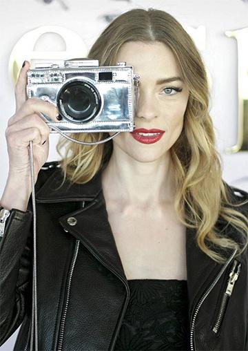Kate Spade Steal The Spotlight Camera Crossbody Bag as seen on Jaime King