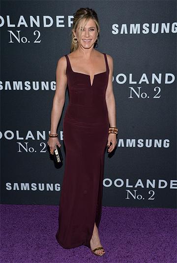Giuseppe Zanotti Gold Strappy Sandal as seen on Jennifer Aniston