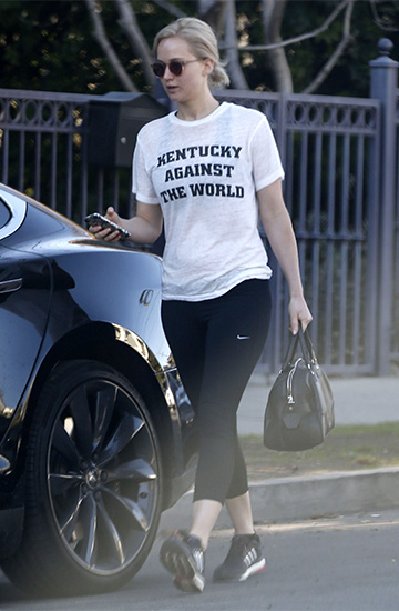 2Nostalgik Kentucky Against The World Tee as seen on Jennifer Lawrence
