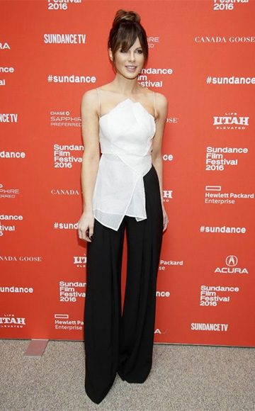 Acler Joshua Silk Bodice as seen on Kate Beckinsale