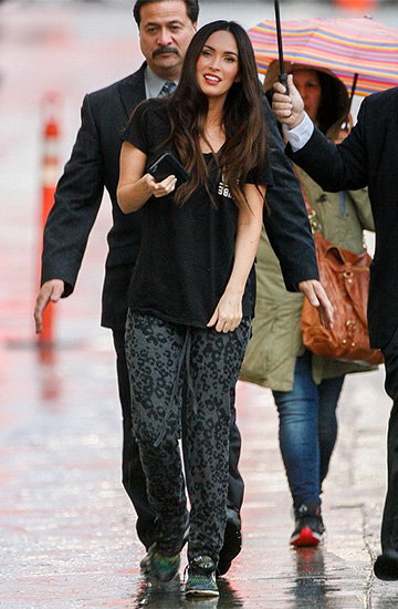 Michael Lauren Leopard Don Lounge Pants as seen on Megan Fox