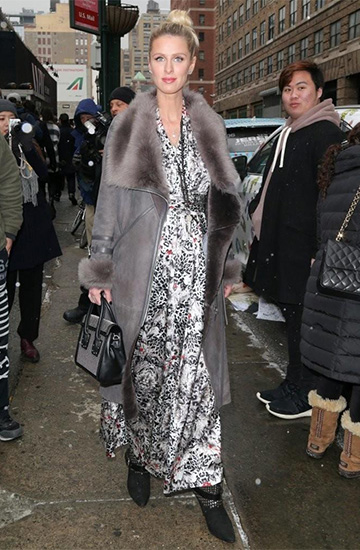 Isabel Marant Otway Boots as seen on Nicky Hilton