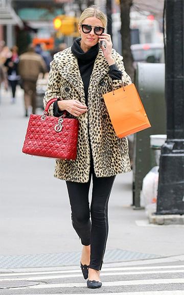 Prada Thick Frame Sunglasses as seen on Nicky Hilton