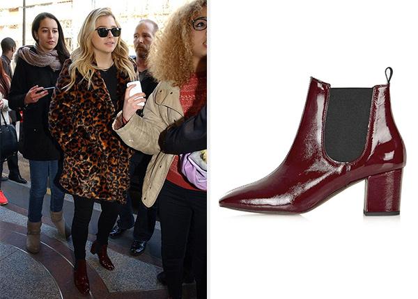 Chloe Grace Moretz loves her Topshop Mary '60s Chelsea Boots