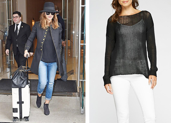 Feel The Piece By Terre Jacobs Jardin Sweater as seen on Jessica Alba