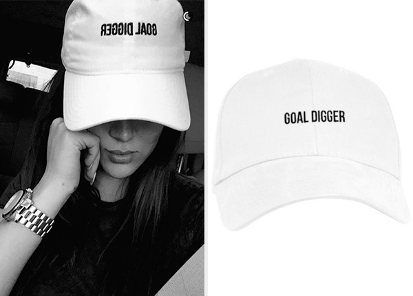 Goal Digger Dad Hat as seen on Nicole Guerriero