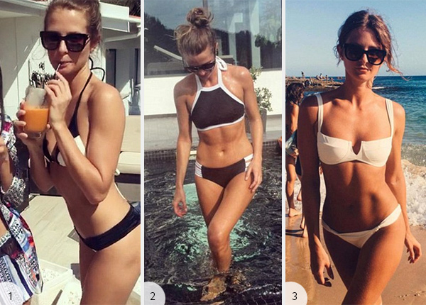 Millie Mackintosh Post-Split Australia and Portugal Vacay Bikini Parade
