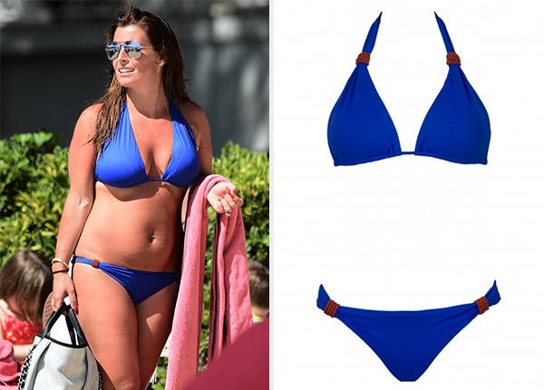 Lazul Blue Caelia Maia Bikini as seen on Coleen Rooney