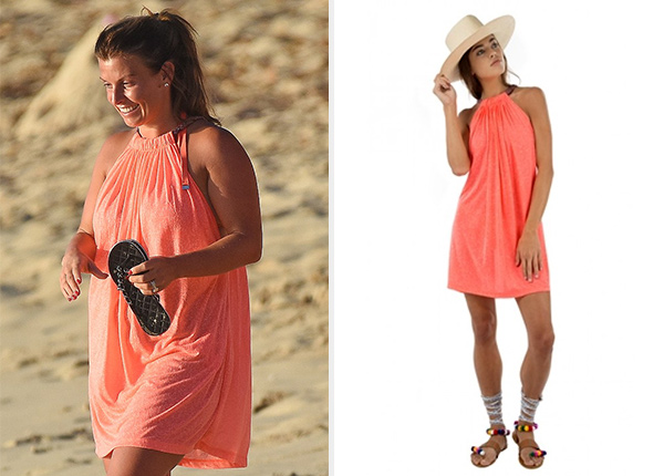 Pitusa Short Aegean Dress as seen on Coleen Rooney