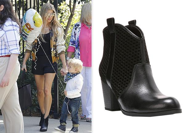 Fergie Footwear Towson Boot as seen on Fergie