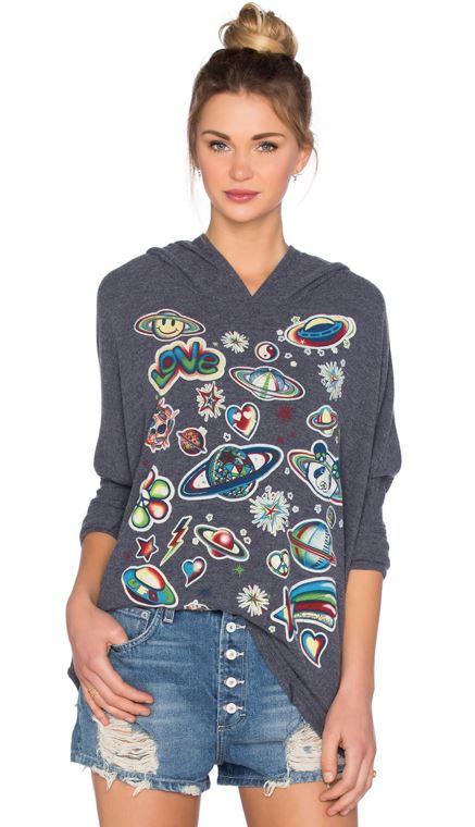 Lauren Moshi Wilma Retro Space Pullover