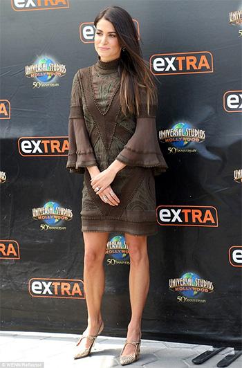 ASOS Lace And Crotchet Mix Tunic Dress as seen on Nikki Reed