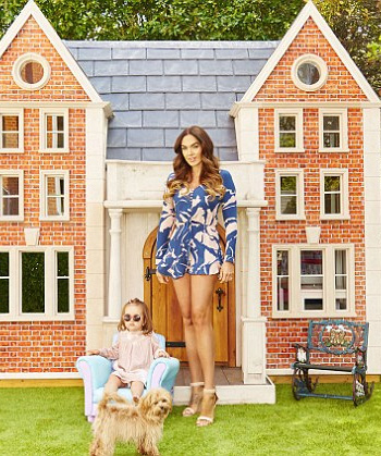 Adriana Degreas Printed Silk Crepe De Chine Playsuit as seen on Tamara Ecclestone