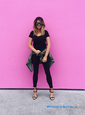 Nasty Gal On a Level Black Vegan Suede Heels as seen on Nicole Guerriero Instagram