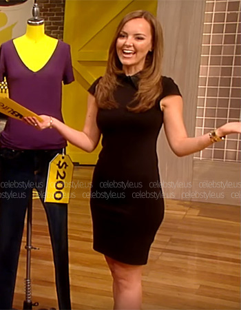 Alice + Olivia Bodycon Mini Dress as seen on Nicole Lapin on FabLife Show