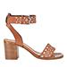 Barbara Bui Studded City Stack Heel Sandal