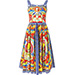 Dolce & Gabbana Carretto Siciliano Print Dress