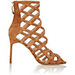 Manolo Blahnik Vagibuzip Caged Booties