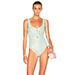 Marysia Swim Palm Springs Lace Up Swimsuit