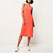 River Island Fluro coral slip dress