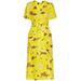 A.L.C. Stephanie Floral-Print Wrap Dress